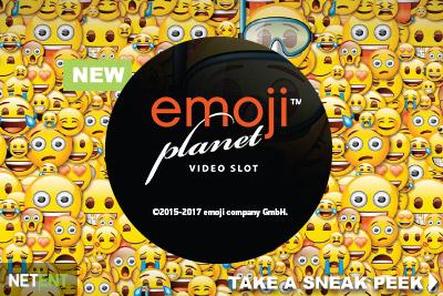 Få 60 free spins på Emojiplanet hos Svedala Casino